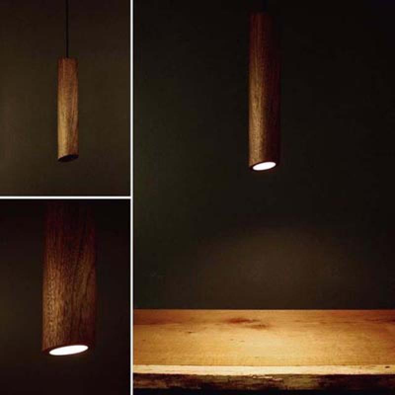 Rubio Monocoat Wooden Lighting Fixtures